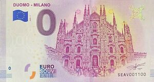 BILLET-0-EURO-DUOMO-MILANO-ITALIE-2018-NUMERO-1100