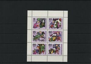 Germany-GDR-DDR-R-d-a-Vintage-1970-Mi-1545-1550-Feuilles-Miniature-Neuf-MNH