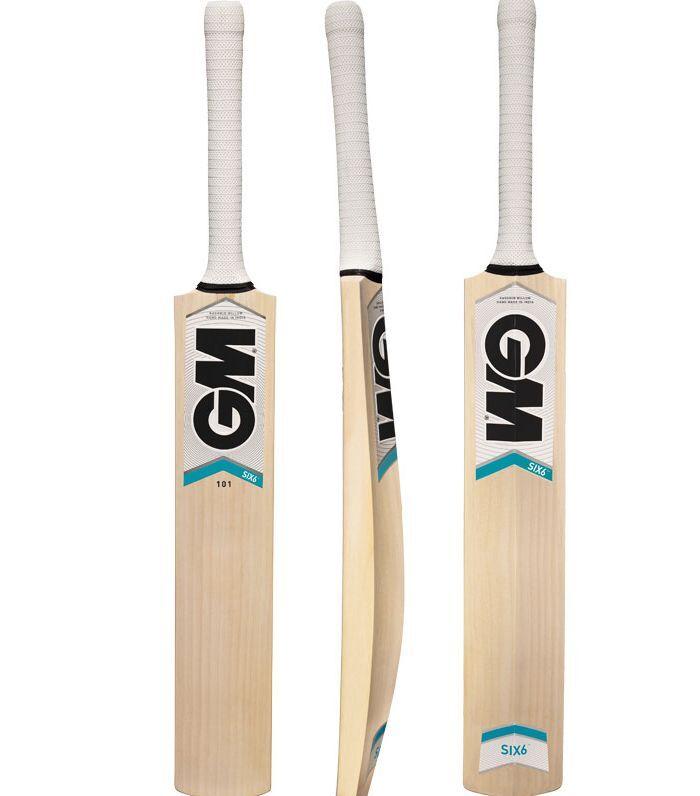 Gunn & Moore Six6 101 Kashmir Salice Adulti Cricket Set Di 2 Bats 6 Ceppi 6