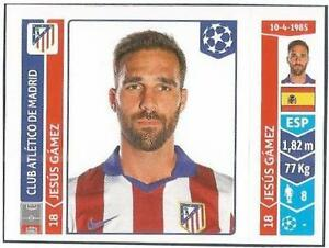 PANINI-UEFA-CHAMPIONS-LEAGUE-2014-15-050-ATLETICO-MADRID-JESUS-GAMEZ