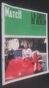 Revista-Paris-Match-N-182-14-Mai-1966-20-Anos-Festival-De-Cannes-Buen-Estado