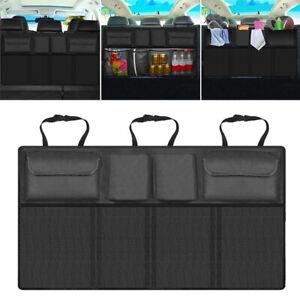 Universal Auto Rücksitz Aufbewahrung Organizer Tasche Mit Netztasche Kofferraum