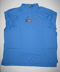 Mens polo ralph lauren blue perwinkle interlock shirt xlt for Mens xlt t shirts
