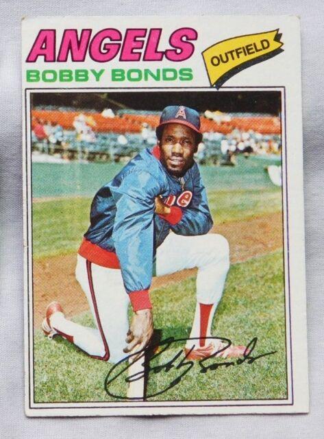 1977 Topps Bobby Bonds California Angels 570 Baseball Card