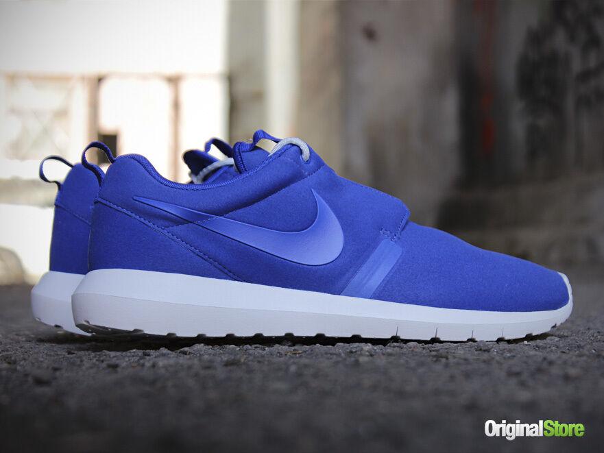 Nike Roshecourir NM QS SZ 9 Natural Motion Bleu Royal Summit blanc 631749-441