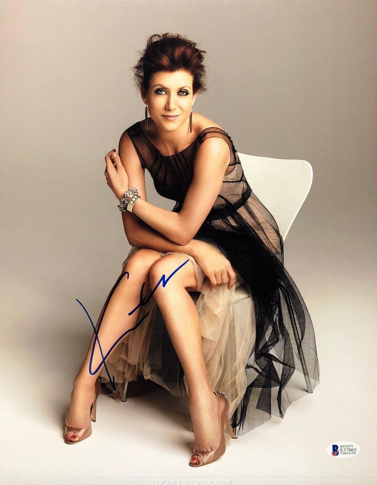 Kate Walsh Signed 11x14 Photo *Model *Grey's Anatomy *Legion BAS Becket E37065