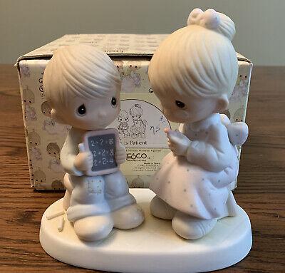 Precious Moments Figurine E9251 ln box Love Is Patient
