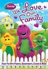 Barney We Love Our Family 0884487105256 DVD Region 1