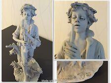 "Statua  porcellane bisquit ""TRIADE"" firmata"