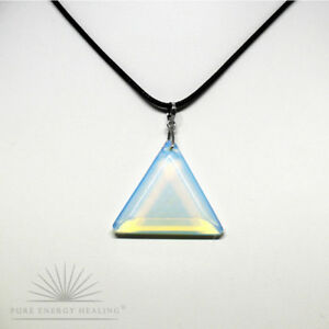 MEDIUM-Opalite-Triangle-Pendant-Blessed-Energised-John-of-God-Brazil