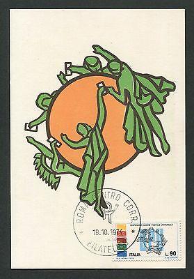 Beliebte Marke Italien Mk 1974 Upu Weltpostverein Maximumkarte Carte Maximum Card Mc Cm C9289
