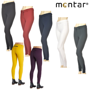 Montar Ellen Ladies Full  Silicone Seat Breeches SALE FREE UK Shipping  discounts and more