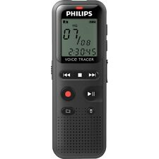 """Philips DVT1150 Voice Tracer Audio Recorder Notes Recording 4 GB - 1.3"""" LCD"""