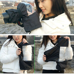 DSLR SLR Camera Rain Cover Waterproof Case Cover For Canon Nikon Sony 5D3 D800