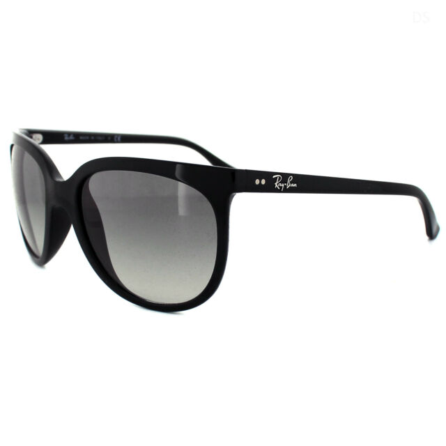 8e3b93f313 Rayban Sunglasses Cats 1000 4126 Black Grey Gradient 601 32
