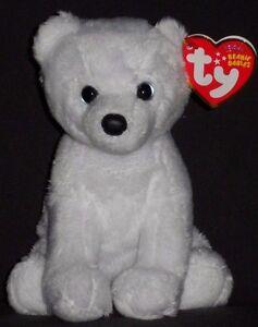 0439cc5cd84 TY IGLOO the (2010 VERSION) POLAR BEAR BEANIE BABY - MINT with MINT ...
