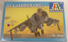 Italeri 1/72 Sea Harrier FRS-1 Royal Navy Model Kit # 1236