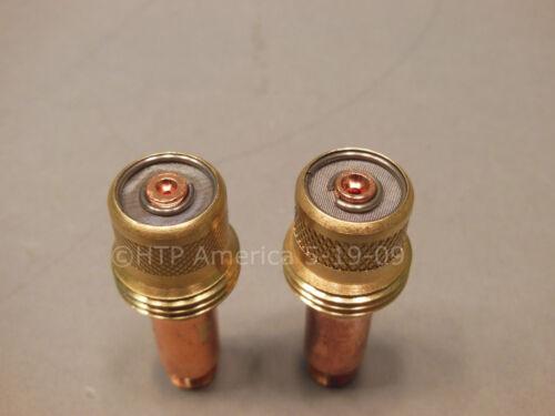 2 45V24 .040 TIG welding gas lens collet body 17 18 26