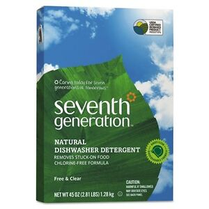 Seventh Generation Free & Clear Automatic Dishwasher Powder - 22150CT