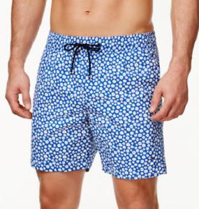 Tommy Hilfiger Men/'s Oakland Floral Swim Trunks MSRP $59 Size XXL