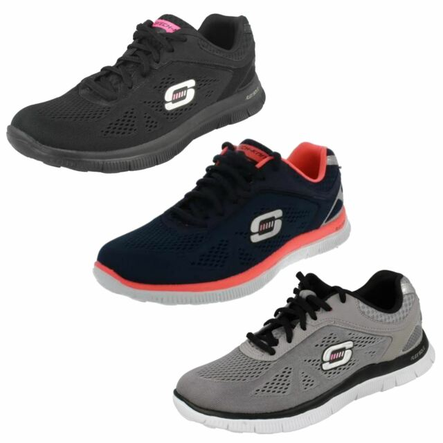 Schuhe SKECHERS Flex Appeal Love Your Style 11728BKGD