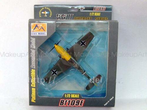 German Messerschmitt Bf-109E JG52 Bennemann 1//72 no diecast plane Easy model