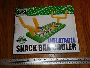 Image Is Loading Gridiron Inflatable Football Field W Goalposts Snack Bar