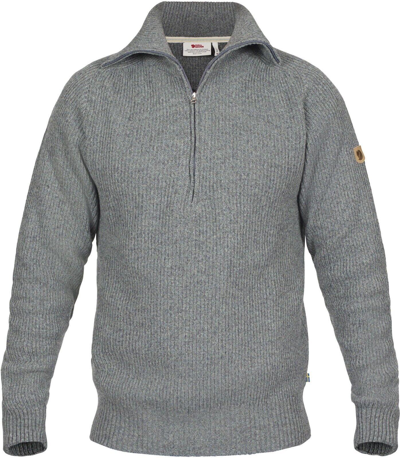Fjäll Räven Grünland Re-Wool Sweater M 81863 Gr. M M M Thunder Grau 6d57c1