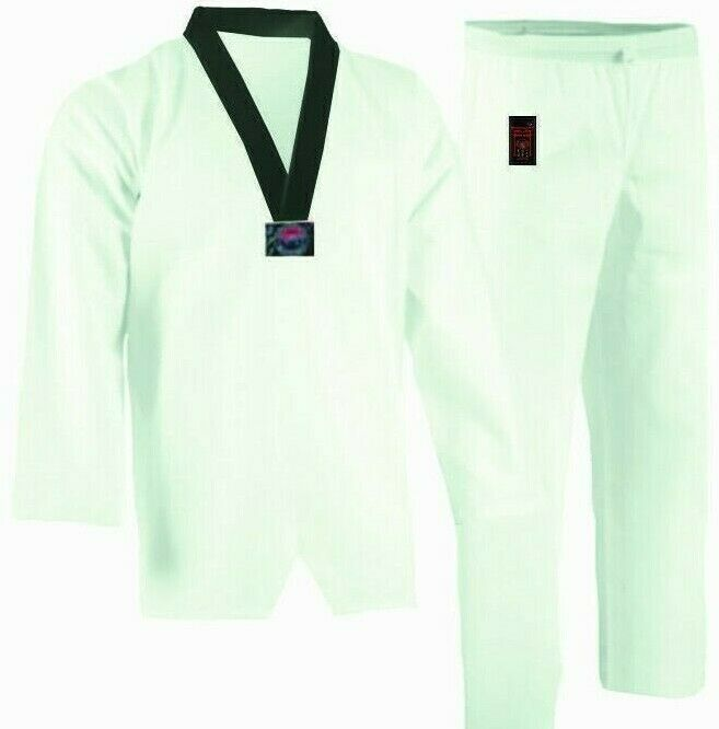 Taekwondo Taekwondo Taekwondo Anzug , Dobok, weiß, Sensei, WTF-Modell 98849b