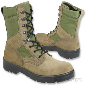 GENUINE-ISSUE-DUTCH-ARMY-PATROL-BOOT-COMBAT-PARA-OLIVE-GREEN-MTP-COMBAT-SUEDE