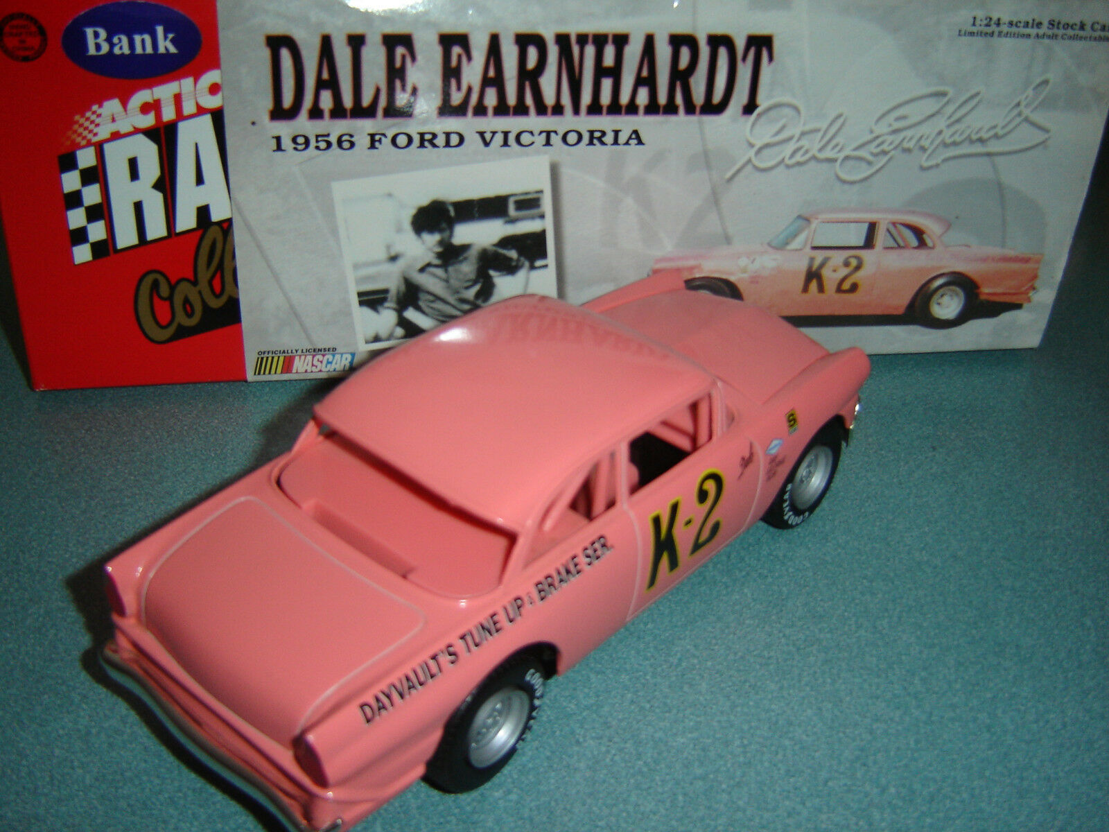 K2 DALE EARNHARDT 1956 DAYVAULT'S TUNE UP FORD VICTORIA ACTION RCCA CWB 1 24