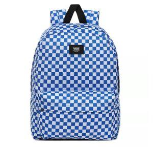 Vans Old Skool III Backpack Victoria Blue Check