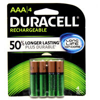 8x Duracell Aaa Rechargeable Battery 800mah Nimh 1.2v 5yr Guarantee + 50%better