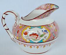 French Antique Sarreguemines Majolica Milk Pot Jug Minton Pattern