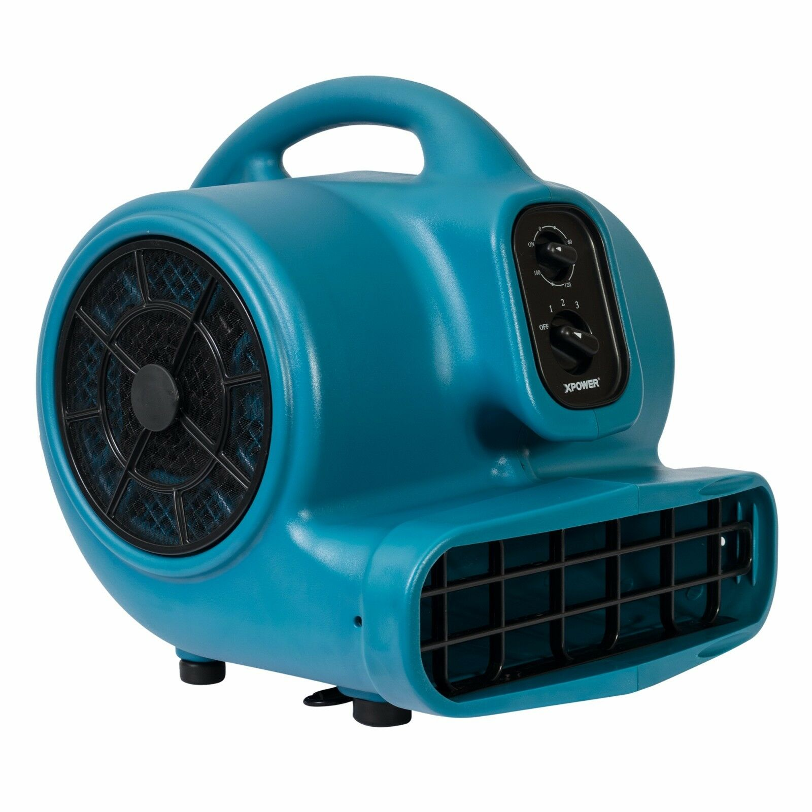 XPOWER X-430TF 1 3 HP Professional Pet Cage Drying Air Mover W  Timer & Filter