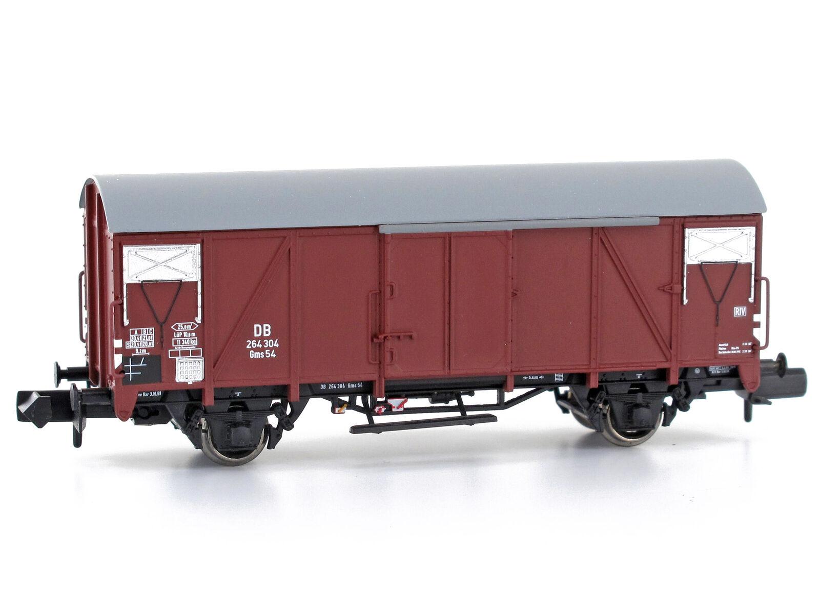 MU N-G54102 - Güterwagen Güterwagen Güterwagen Gms 54 DB Epoche III - Spur N - NEU 2930db