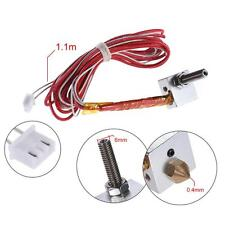 Hot End Kit 0.4mm Nozzle M6*30mm Throat for 1.75mm DIY 3D Printer Extruder Y4A8
