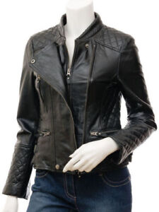 Skin Motorcycle Genuine Women's Lamb Trendy Soft New Jackets Leather Stylish nwYU84xq