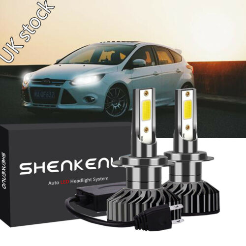 For Ford Focus MK3 2011-on H7 LED HID Conversion Headlight Kit-CANBUS ERROR FREE