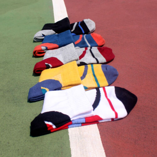 5 Pairs Men/'s Cotton Ankle Sport Socks Climbing Basketball Camping Travel Socks