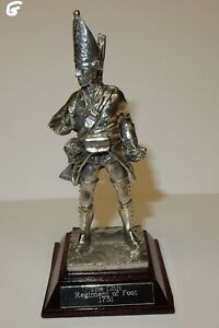 Royal-Hampshire-Art-Foundry-Pewter-Napoleonic-Soldier-12th-Regiment-of-Foot-G