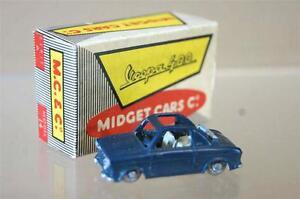 MIDGET-TOYS-Co-14-SERIES-A-WAY-BOYS-LES-ROUTIERS-VESPA-400-COUPE-GREY-MIB-ozc