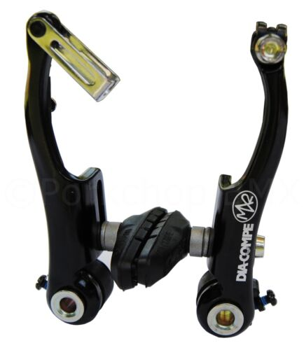 BLACK ANODIZED Dia-Compe MX2 MX-2 VC-733 V-brake bicycle brake for BMX or MTB