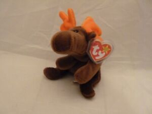 Ty Beanie Baby Babies CHOCOLATE the Moose MWMT