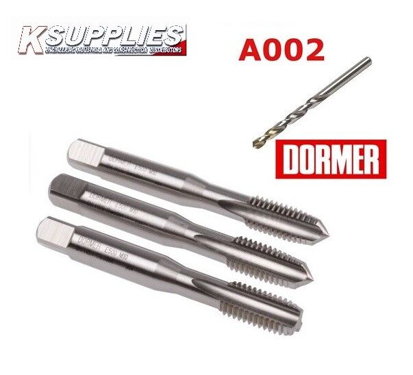 Dormer E500 HSS Metric Coarse Tap M12  Top quality