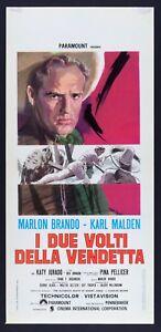 L102 Plakat I Zwei Gesichter Der Rache Marlon Brando Karl Malden Pellicer