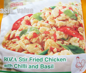 ... Beverages > See more Roza Stir Fried Chicken With Chilli&basil Thai