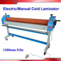 Electric Manual 51in 1300mm Automatic Large Cold Laminating Machine 1.3m