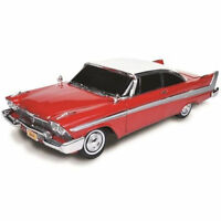 Autoworld 1958 Plymouth Fury Christine Night Time Verison Awss102 1:18 Red