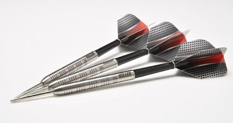 Darts Killer Performance Darts 24 Gram 90% Tungsten Steel Tip Free P&P